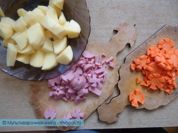 Первое блюдо: Цветочный суп
