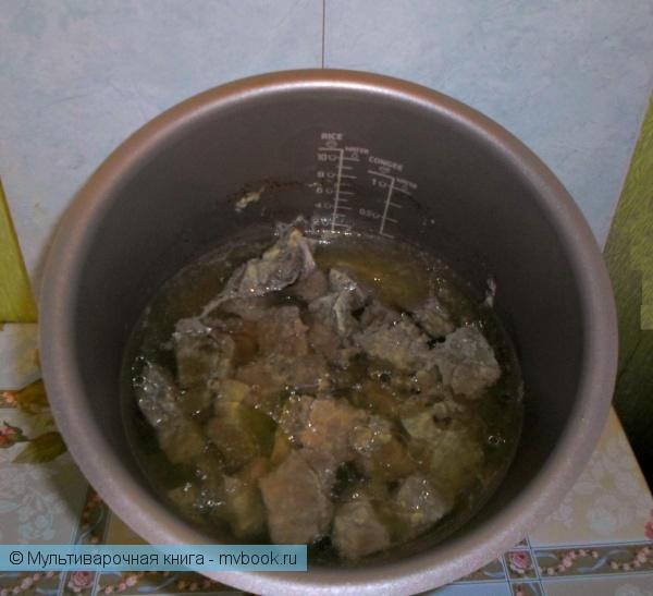 Первое блюдо: Суп деревенский (мясной)