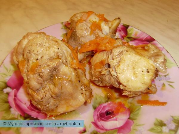 Вторые блюда: Кролик с лимонным соком