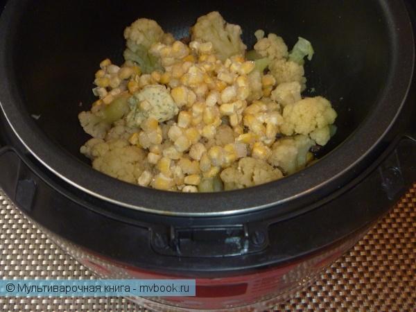 Вторые блюда: Цветная капуста по-восточному
