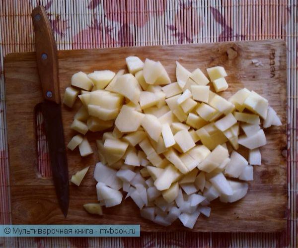 Вторые блюда: Аппетитный картофель с сосисками!