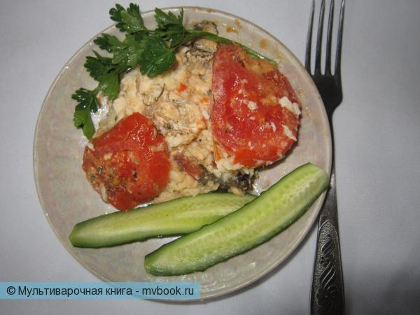 Вторые блюда: Камбала, запечённая в фольге