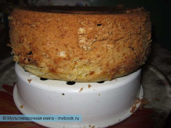 Готовый остывший кекс можно поливать остывшей глазурью