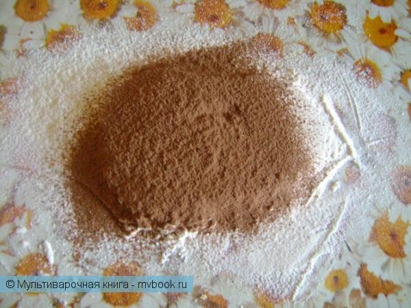 Выпечка: Кекс с орехами и какао