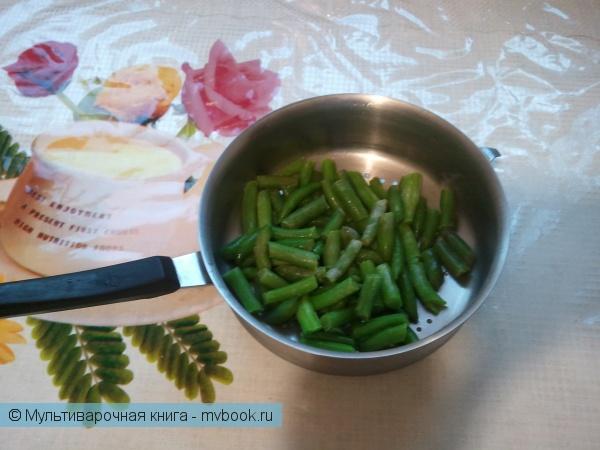 Вторые блюда: Острое мясо со спаржей в остром соусе.