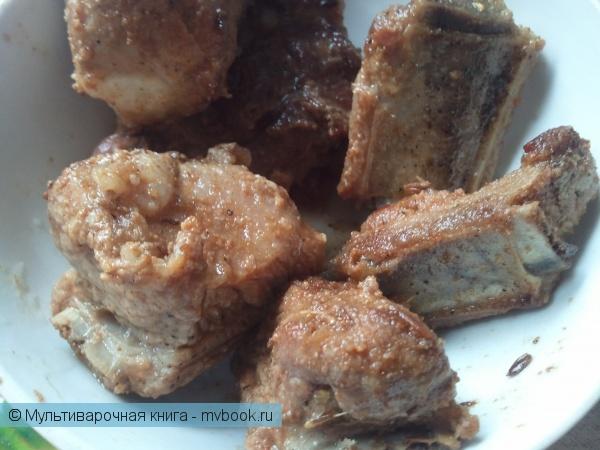 Вторые блюда: Сочные свинные ребрышки к пиву