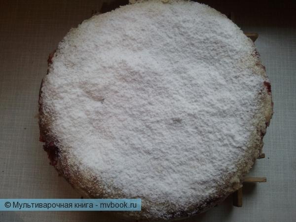 присыпаем сахарной пудрой