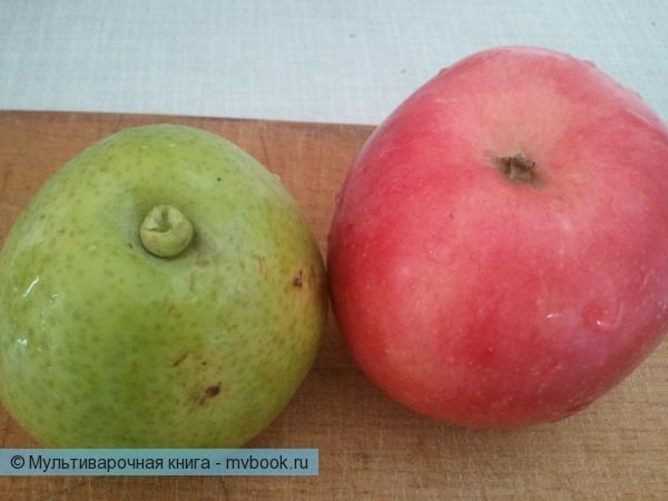 яблоко и грушу