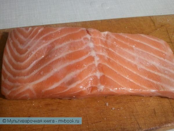 маринуем лосося