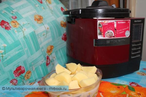 Вторые блюда: Свинина нежная, с картофелем и чесночком