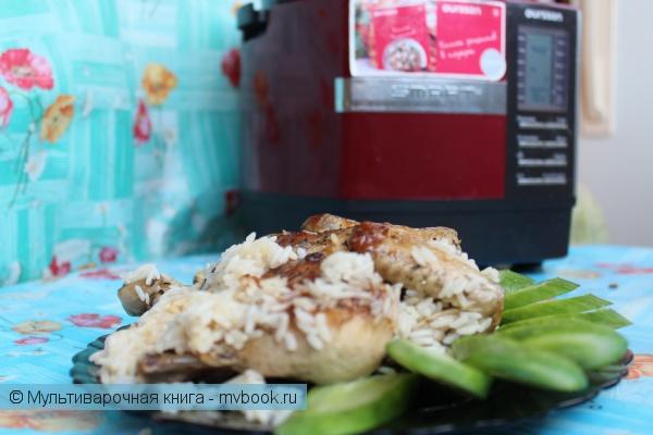 Вторые блюда: Цыпленок для Аладдина в мультиварке