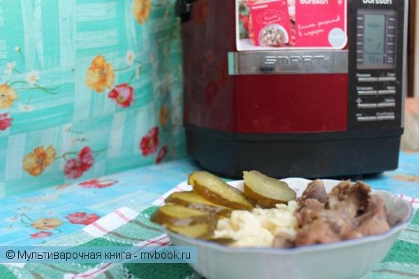 Вторые блюда: Мягкие желудочки со сметаной