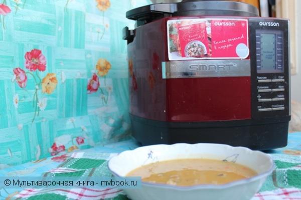 Первое блюдо: Суп гороховый в скороварке