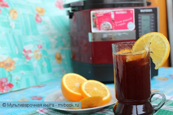 Напитки: Глинтвейн на домашнем черно-смородиновом вине