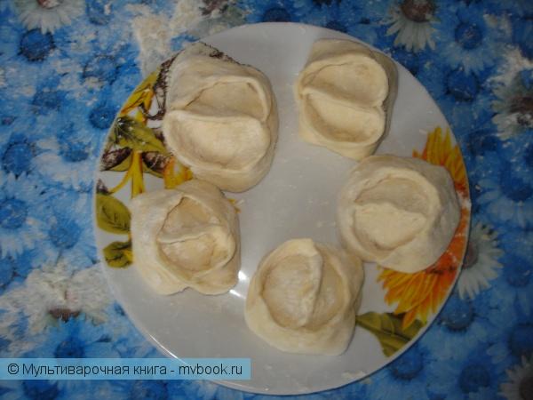 Вторые блюда: Нежные паровые лукошки
