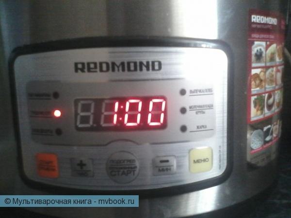"""Выставить режим """"Тушение/суп"""""""