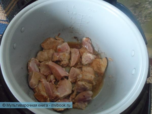 обжаривается мясо