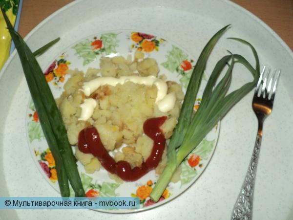 Вторые блюда: Картошечка жареная