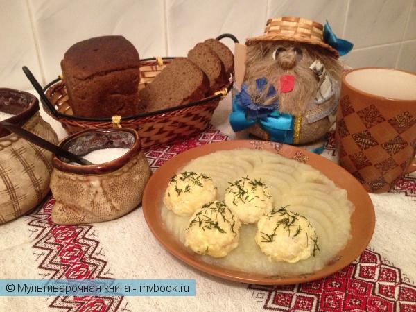 Детское меню: Рыбные тефтели с картофелем на пару