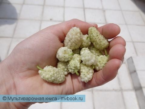 Десерты: Варенье из белой шелковицы или тутовое варенье