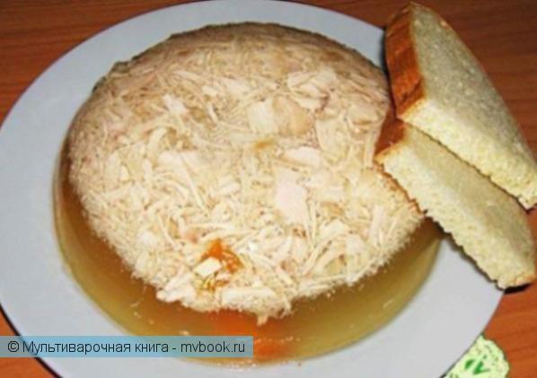 Вторые блюда: Диетический холодец из курицы