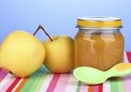 Яблочное пюре для первого прикорма